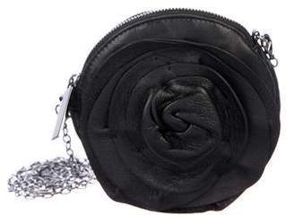 Pre Owned At Therealreal Valentino Rosette Mini Crossbody Bag
