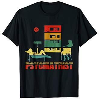 Psychiatrist Vintage Color. Retro T-Shirt For Men/Women