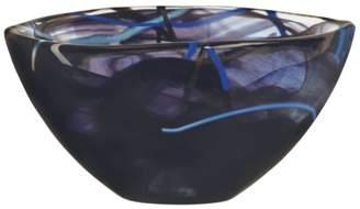 Kosta Boda Contrast Black Bowl, Small