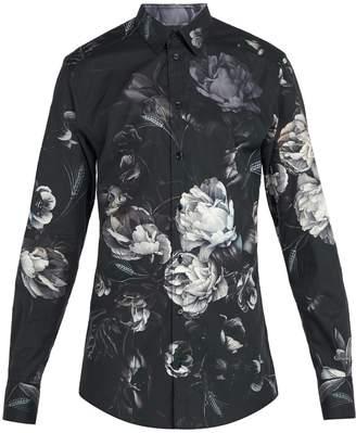 Dolce & Gabbana Floral-print cotton shirt