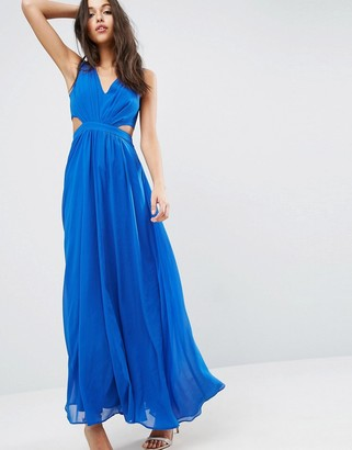 ASOS Side Cutout Maxi Dress $64 thestylecure.com