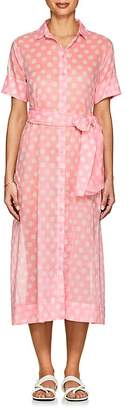 Lisa Marie Fernandez Women's Dotted Cotton Voile Shirtdress