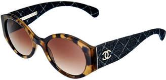 Chanel Women's Ch5405 1668/S5 53Mm Sunglasses