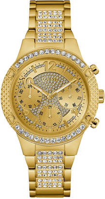 GUESS Women's Gold-Tone Stainless Steel Bracelet Watch 40mm
