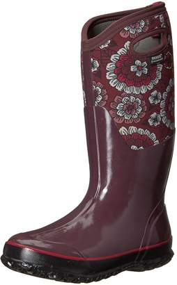 Bogs Women's Classic Pansies Snow Boot