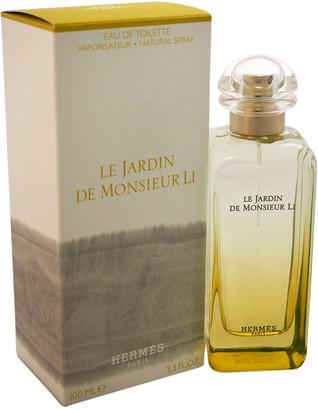 Hermes Women's 3.3Oz Le Jardin De Monsieur Li Eau De Toilette Spray
