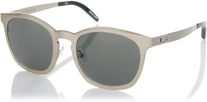 Linda Farrow Luxe Alexander Wang Gold Sunglasses