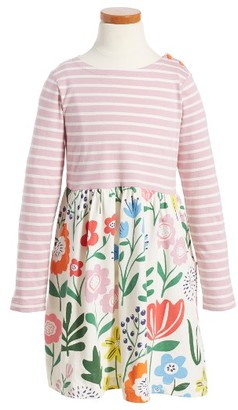 Toddler Girl's Mini Boden Hotchpotch Dress $45 thestylecure.com