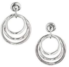 Uno de 50 Sterling Silver Hipster Earrings
