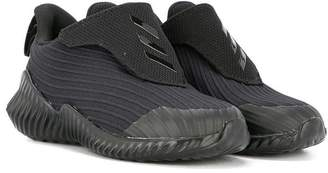 adidas Kids ribbed touch strap sneakers