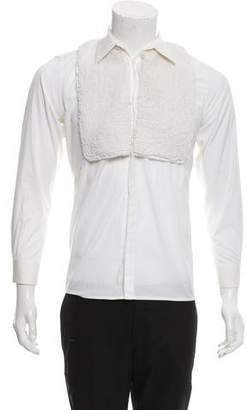 Givenchy Textured Button-Up Shirt
