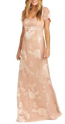 Show Me Your Mumu Stella Empire Waist Gown