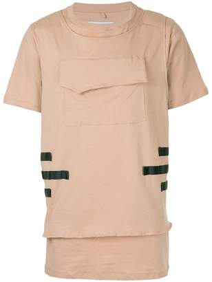 Matthew Miller layered hem T-shirt