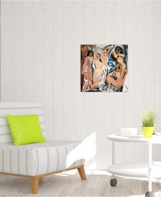 """iCanvas Les Demoiselles d'Avignon"""" by Pablo Picasso Gallery-Wrapped Canvas Print (18 x 18 x 0.75)"""