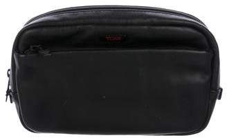 Tumi Leather Travel Pouch