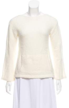 MICHAEL Michael Kors Wool Rib Knit Sweater