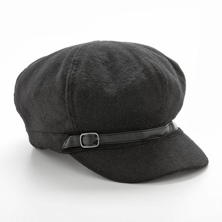 Sonoma life + style® wool newsboy hat