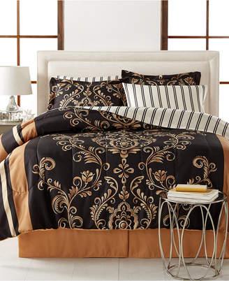 Sabrina Fairfield Square Collection Closeout! Reversible 8-Piece California King Bedding Ensemble Bedding
