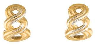 Givenchy Woven Clip-On Earrings