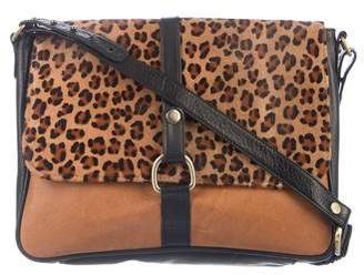 Pre Owned At Therealreal Lizzie Fortunato Ponyhair Leather Bag