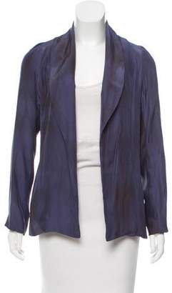 LoveShackFancy Casual Silky Jacket