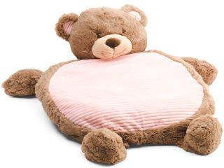 Teddy Bear Plush Baby Play Mat