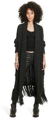 Ralph Lauren Denim & Supply Fringed Open-Front Cardigan $298 thestylecure.com