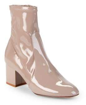 Valentino Classic Patent Leather Booties
