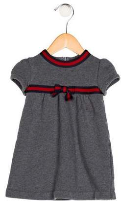 Gucci Girls' Bow-Accented Dress