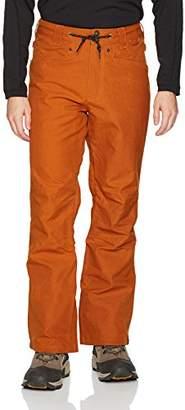 DC Men's Relay 15k Water Proof Denim Jean Style 5 Pocket Snowboard Pants