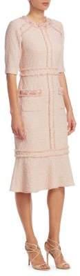 Teri Jon by Rickie Freeman Classic Boucle Dress