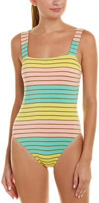 Trina Turk Lurex Stripe One-Piece