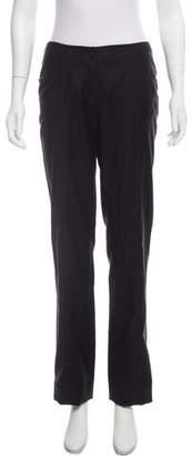 Chanel Wool Mid-Rise Pants