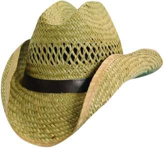 Dorfman Pacific Kids' Rush Straw Western Cowboy Hat