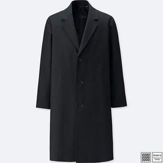 Uniqlo Men's U Wool-blend Chesterfield Coat