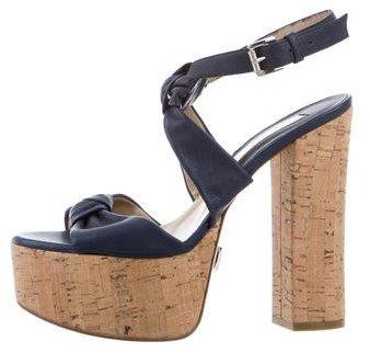 MICHAEL Michael KorsMichael Kors Knot-Accented Platform Sandals