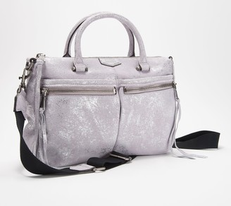 Aimee Kestenberg Lamb Leather Large Satchel - You Got This