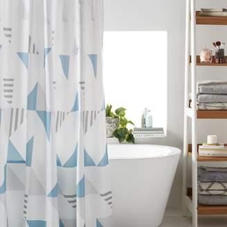 Scandinavian MoDRN Triangle Shower Curtain