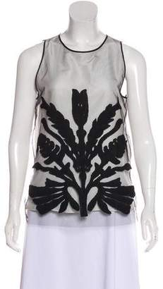 Maiyet Embroidered Sleeveless Top w/ Tags