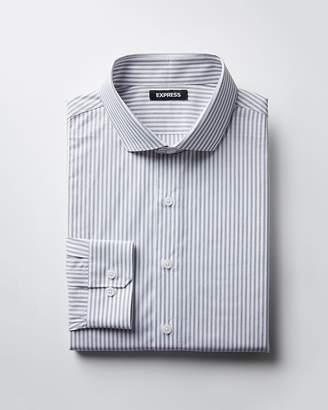 Express Classic Fit Striped Dress Shirt
