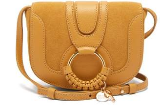 See by Chloe Hana Mini Leather And Suede Cross Body Bag - Womens - Yellow