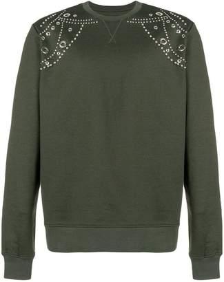 Les Hommes embellished sweatshirt
