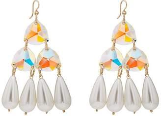 BECK Jewels Women's Ice Paradisco Drop Earrings