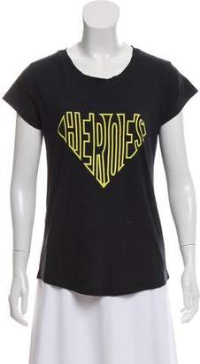 Zadig & Voltaire Short Sleeve Graphic T-Shirt