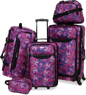Tag Springfield Iii Printed 5-Pc. Luggage Set
