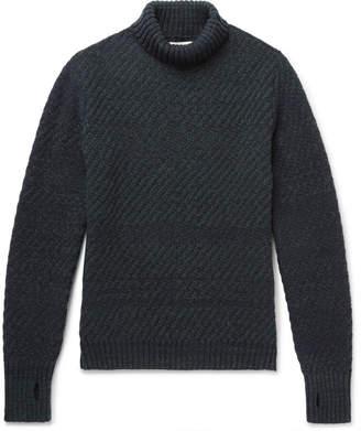 Oliver Spencer Talbot Ribbed Wool Rollneck Sweater