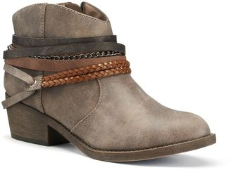 SO® Women's Strappy Ankle Boots $59.99 thestylecure.com