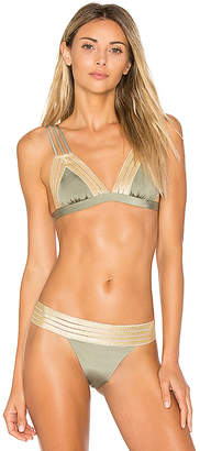 Beach Bunny Sheer Addiction Triangle Top