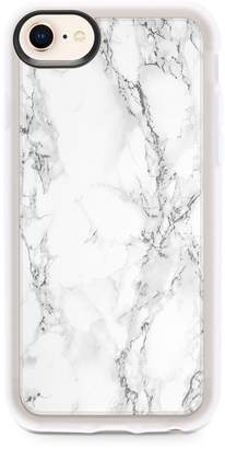 Casetify White Marble iPhone Case