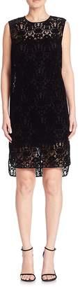 DKNY Women's Lace Shift Dress